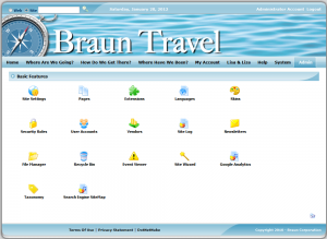 Braun Travel Admin