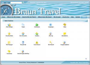 Braun Travel Admin