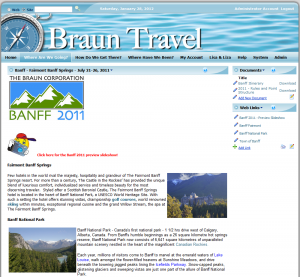 Braun Travel Where Are We Going