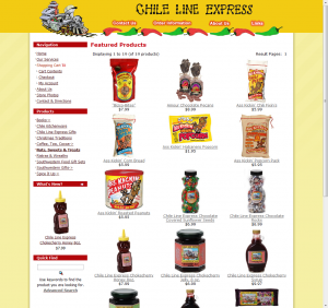 Chile Line Express Products