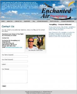 Enchanted Air Contact
