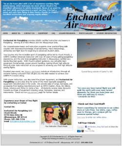 Enchanted Air Homepage