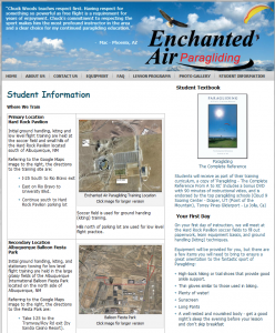 Enchanted Air Students