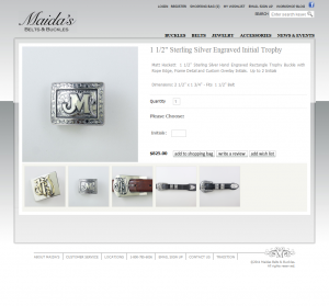 Maidas Add To Cart Custom