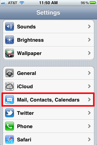 how to set up an outlook account on iphone
